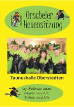 Hexensitzung 2020 Flyer